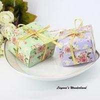 Μπομπονιέρα Γάμου – Βάπτισης Vintage Floral