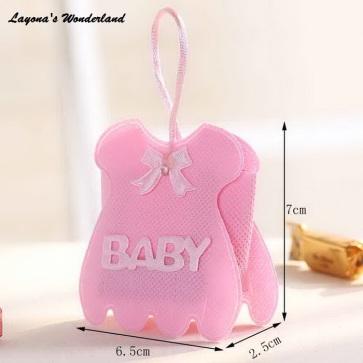 Μπομπονιέρα Φόρεμα Μωρού Ροζ