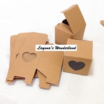 Κουτάκι Καρδιά Κραφτ