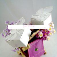 Μπομπονιέρα Γάμου - Βάπτισης Πεταλούδα σε Κουτάκι