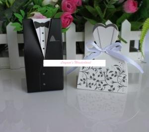 Μπομπονιέρα Γάμου Νύφη και Γαμπρός