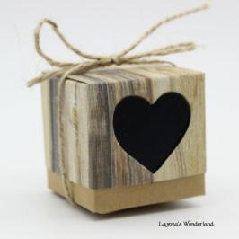Μπομπονιέρα Vintage Καρδιά ΚΩΔ: GR0117