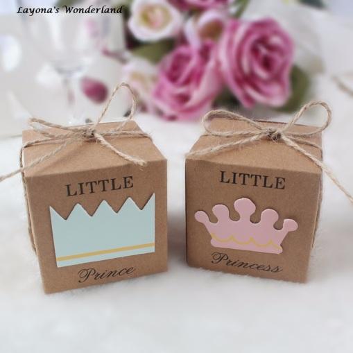 Μπομπονιέρα Βάπτισης Μικρή Πριγκίπισσα - Μικρός Πρίγκιπας
