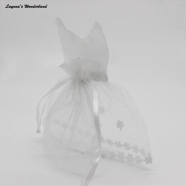 Μπομπονιέρα Γάμου Νύφη σε Πουγκί