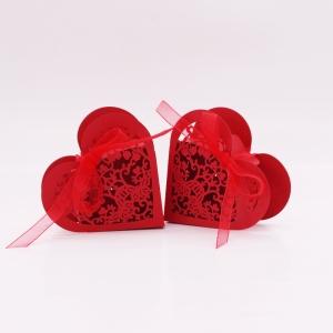 Μπομπονιέρα Γάμου - Βάπτισης Καρδιά