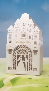 Μπομπονιέρα Γάμου Νύφη και Γαμπρός Παρεκκλήσι