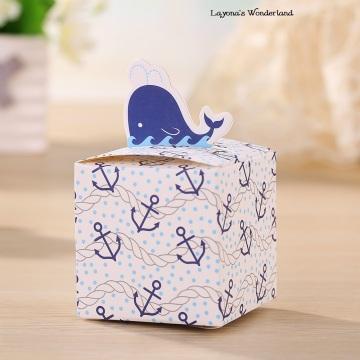 Μπομπονιέρα Βάπτισης Φάλαινα