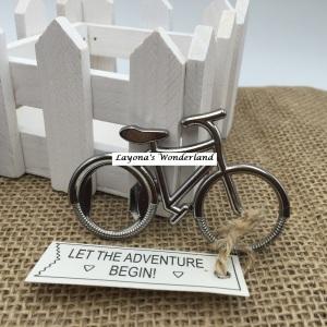 Μπομπονιέρα Γάμου - Βάπτισης Ποδήλατο Ανοιχτήρι
