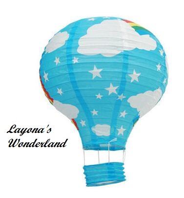 Διακοσμητικό Αερόστατο Χάρτινο -11