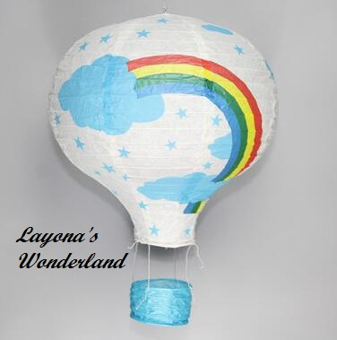Διακοσμητικό Αερόστατο Χάρτινο -8