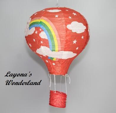 Διακοσμητικό Αερόστατο Χάρτινο -9