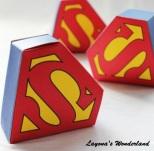 Μπομπονιέρα Βάπτισης Σούπερμαν Superman