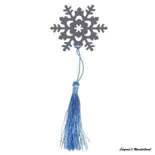 Μπομπονιέρα Σελιδοδείκτης Χιονονιφάδα-1