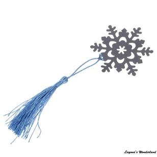 Μπομπονιέρα Σελιδοδείκτης Χιονονιφάδα-4
