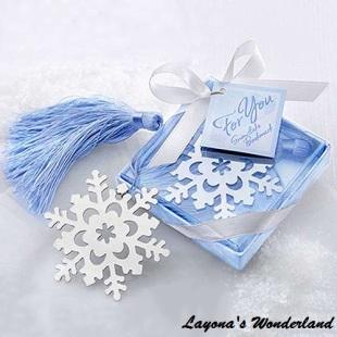 Μπομπονιέρα Σελιδοδείκτης Χιονονιφάδα-6
