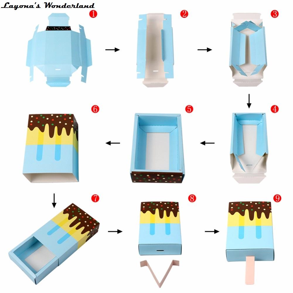 Μπομπονιέρα Βάπτισης Παγωτό - Φτιάξτο Μόνος Σου - DIY