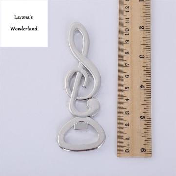 Μπομπονιέρα Μουσικό Κλειδί Σολ Διαστάσεις