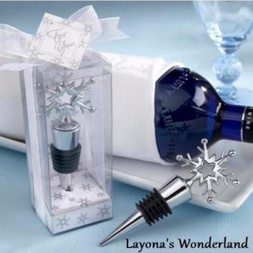 Μπομπονιέρα Γάμου - Βάπτισης Χιονονιφάδα-2