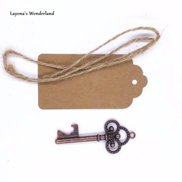 Μπομπονιέρα Κλειδί Vintage-3