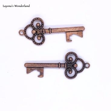 Μπομπονιέρα Κλειδί Vintage-4
