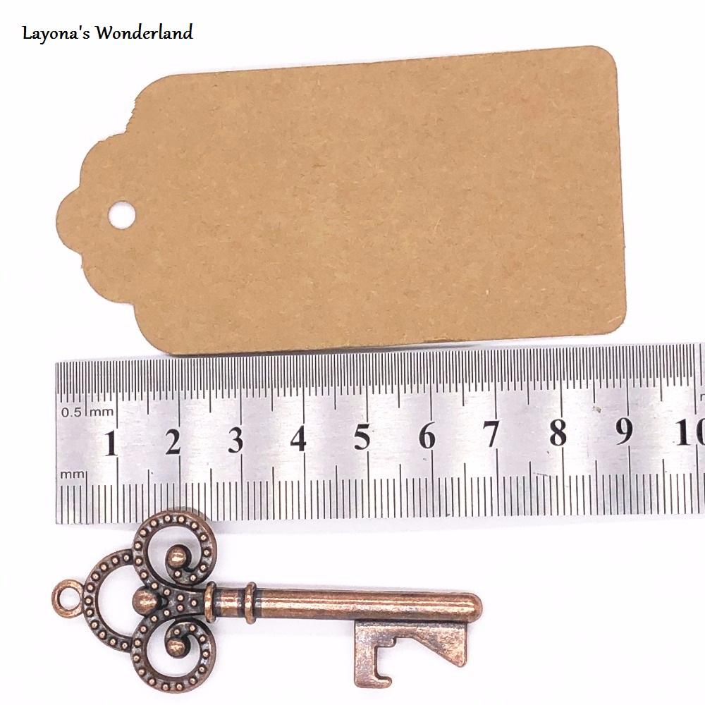 Μπομπονιέρα Κλειδί Vintage Διαστάσεις