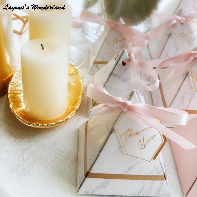 Μπομπονιέρα Ροζ Χρυσό