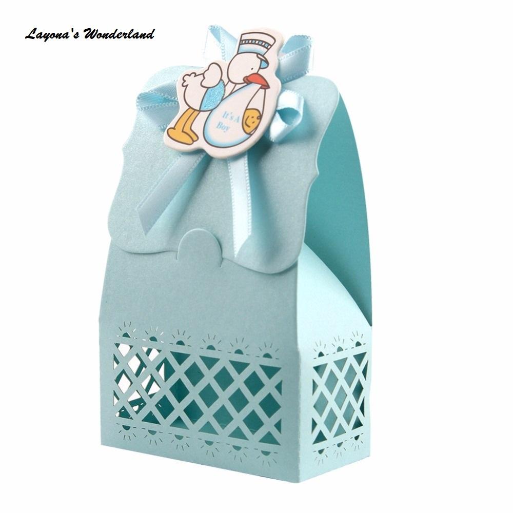 Μπομπονιέρα Βάπτισης Μωρό Πελαργός