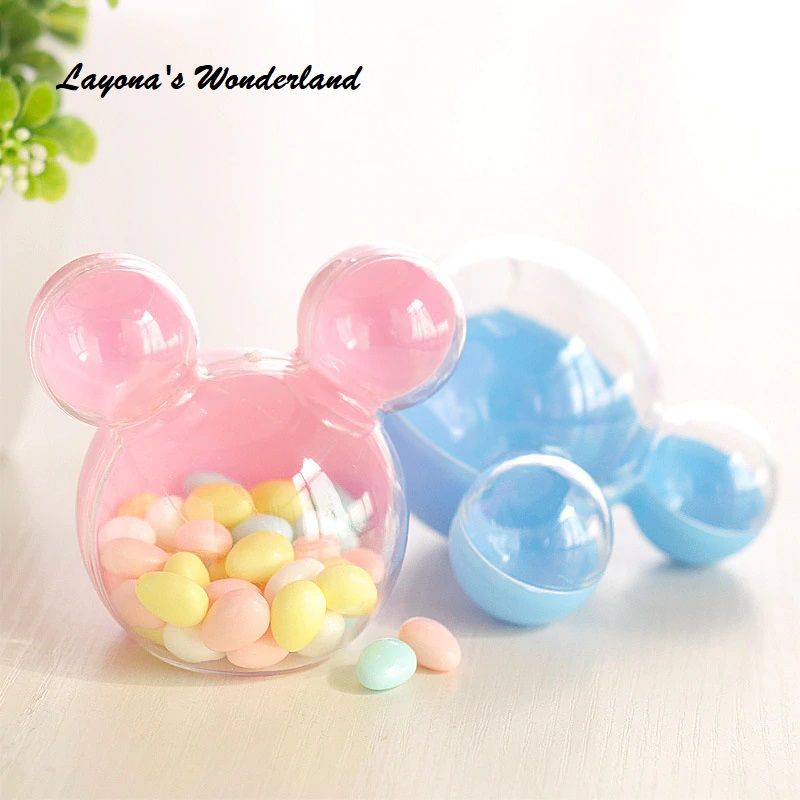 Μπομπονιέρα Βάπτισης Mickey - Minnie Mouse